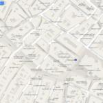 Normale Google Maps Karten Ansicht