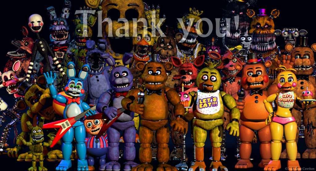 FNAF4 - Thank You