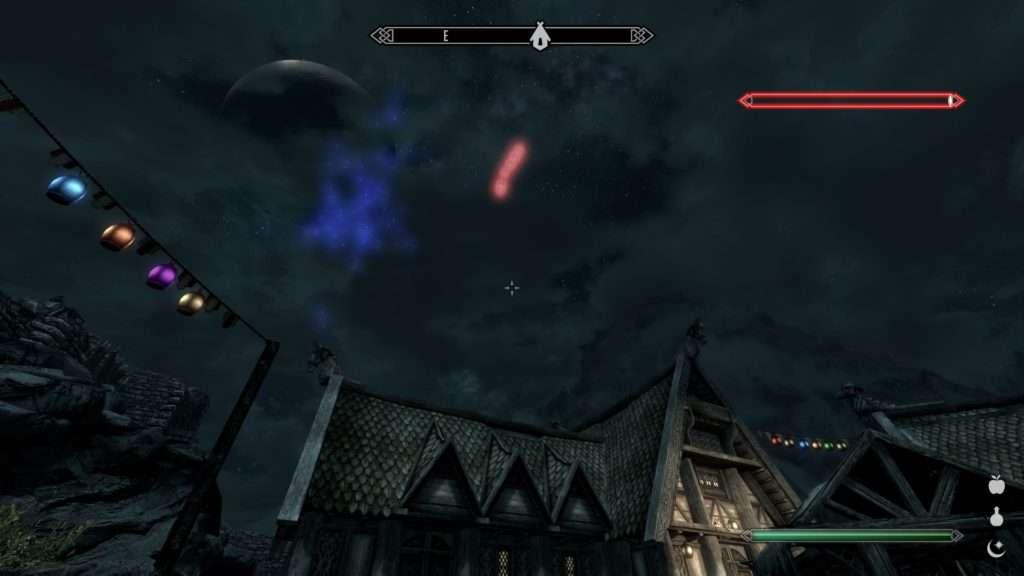 Feuerwerk in Skyrim