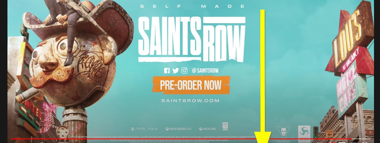 Saints Row…